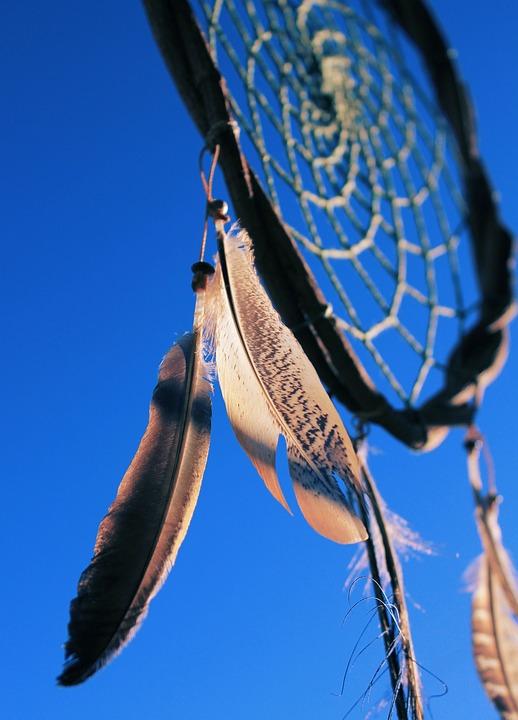 Dreamcatcher, Sky, Blue, Rays Of Sunshine