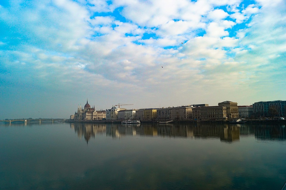 Water, Reflection, Travel, Sky, River, Panoramic