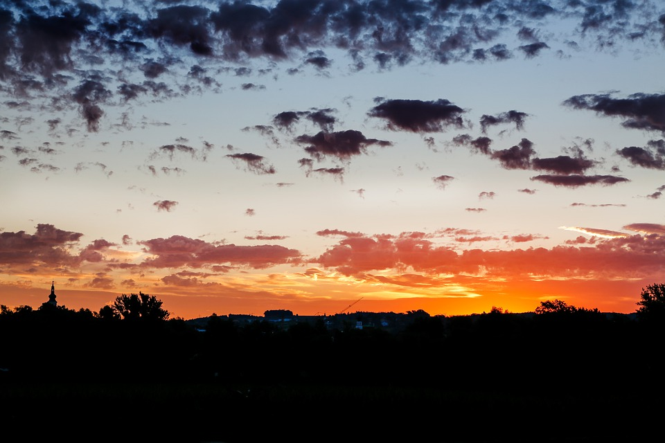 Sunrise, Morning, Landscape, Nature, Sun, Rest, Sky