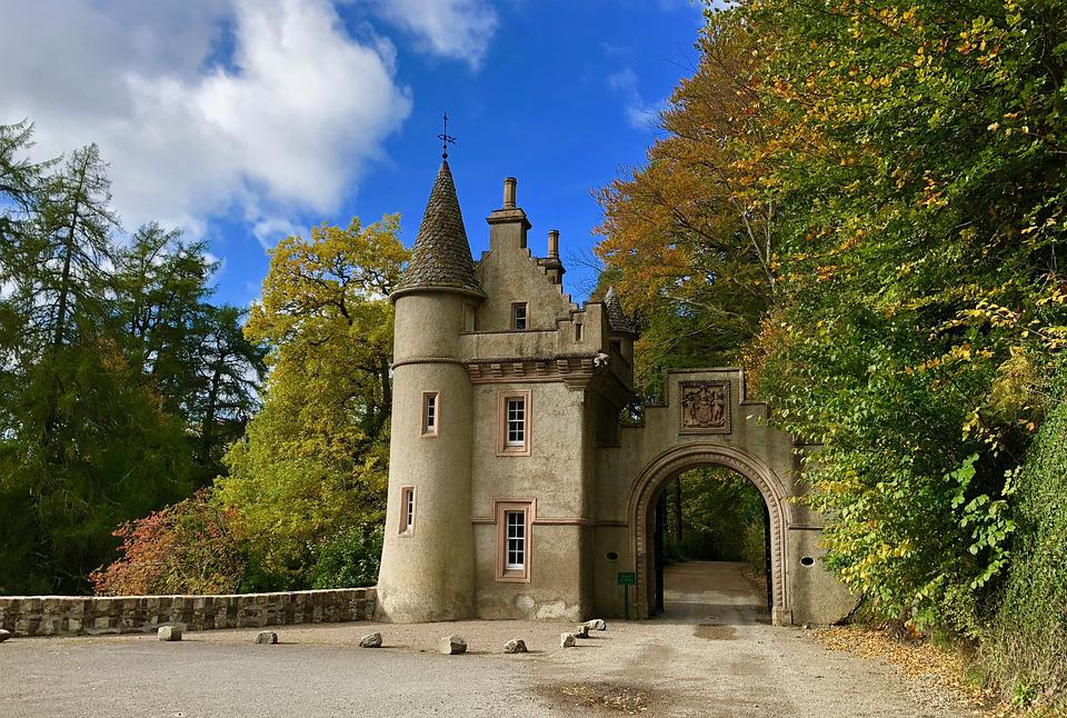 Castle, Architecture, Goal, Historically, Romantic, Sky