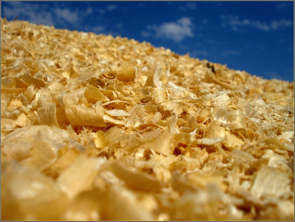 Background, Sawdust, Yellow, Sky