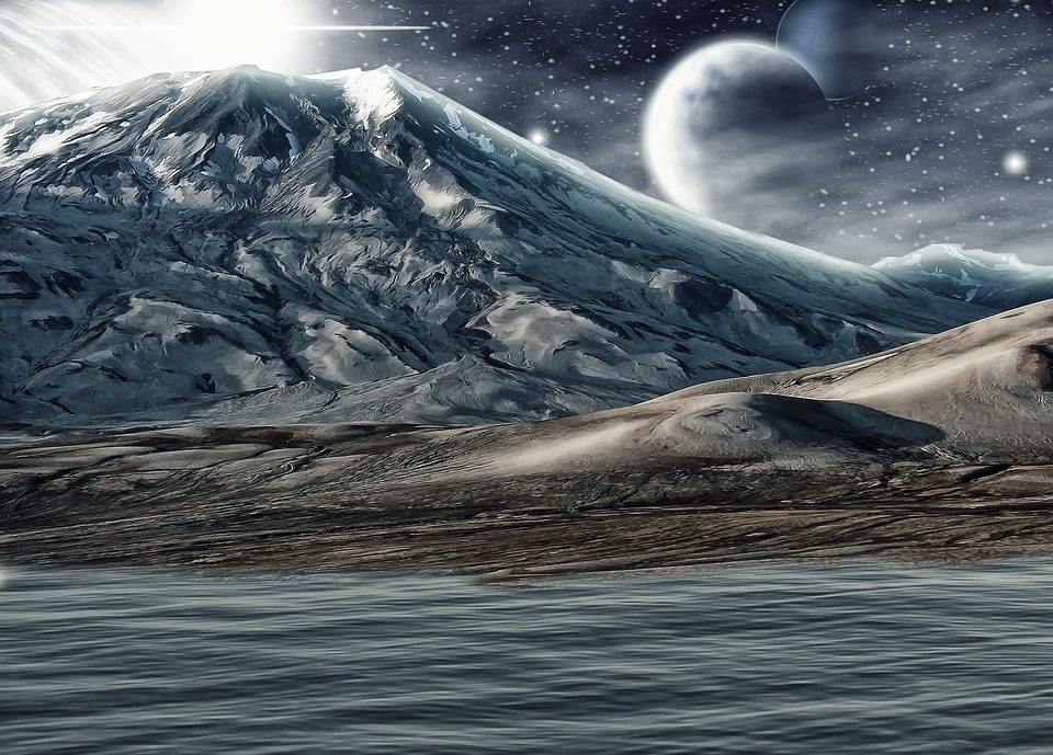 Landscape, Fantasy Landscape, Sci-fi, Fantasy, Sky