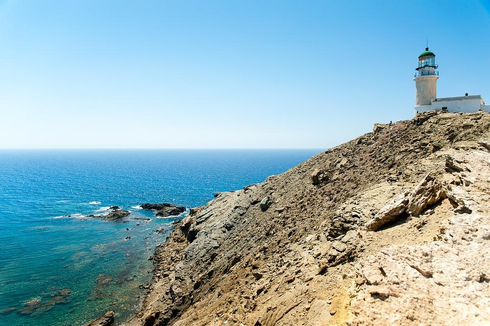 Rhodes, Greece, Sky, Sea, Mediterranean, Water, Blue