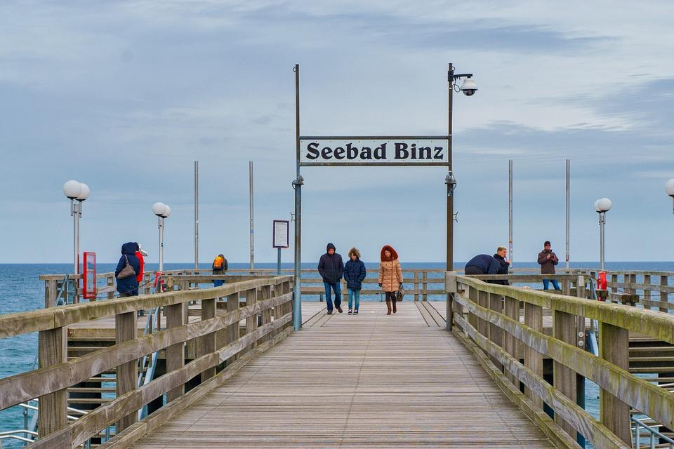 Waters, Sea, Travel, Pier, Sky, Baltic Sea