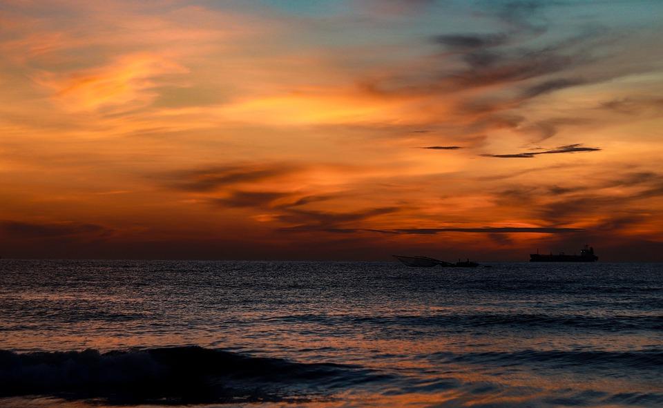 Sea, Sky, Ship