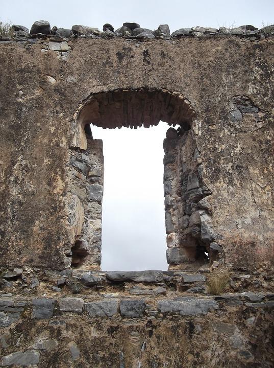 Portal, Sky, Clouds, Peaceful, Serenity, Stones