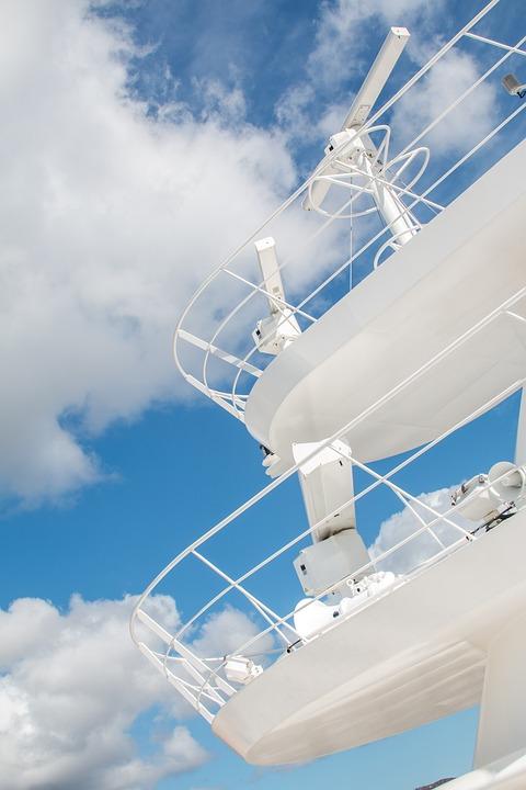 Deck, Ship, Sky, Cloudy, Cruise, Cruise Ship