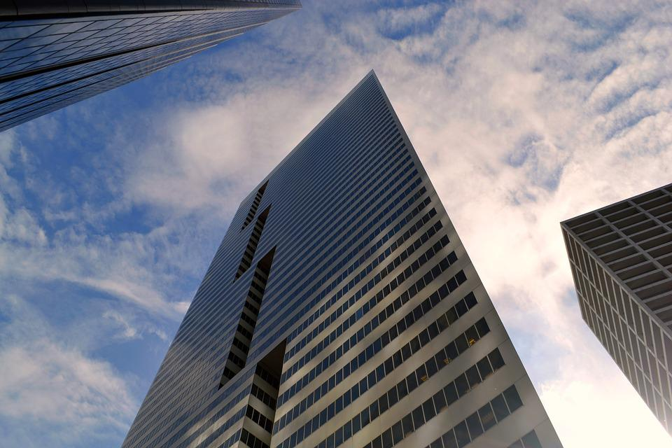 Skyscraper, Architecture, Sky, Office, Modern