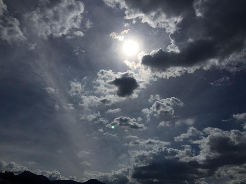 Sun, Sky, Cloud, Solo, Landscape, Horizon
