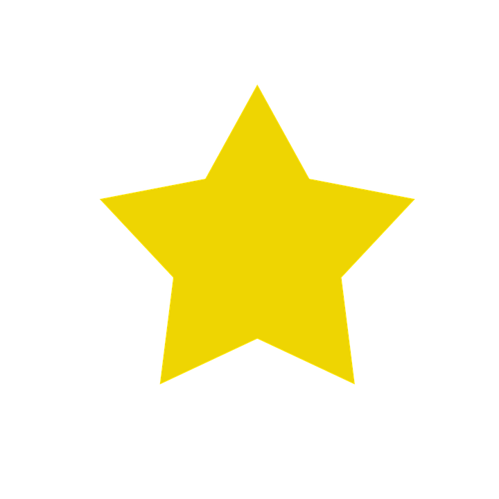 Star, Yellow, Sky, Tips, Form
