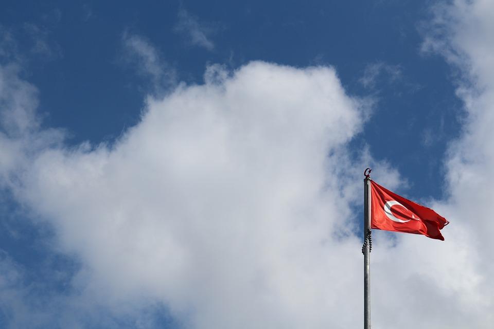 Turkey, Homeland, Red, White, Month, Stars, Sky, No One