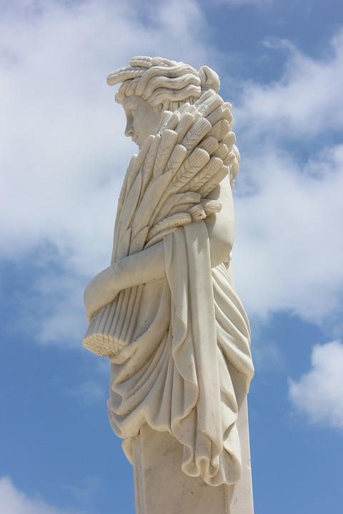 Statue, The Female Statue, Sky