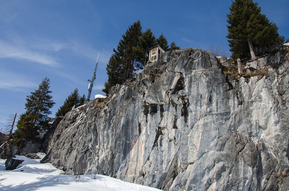 Nature, Sky, Landscape, Mountain, Travel, Wall, Stone