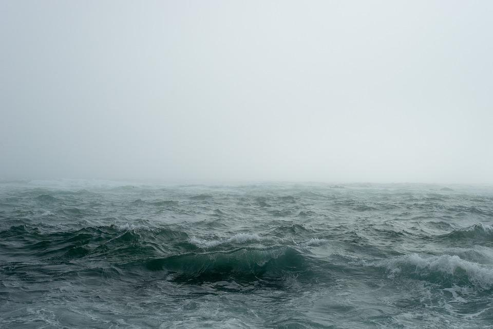 Fog, Mist, Nature, Ocean, Outdoors, Sea, Sky, Storm