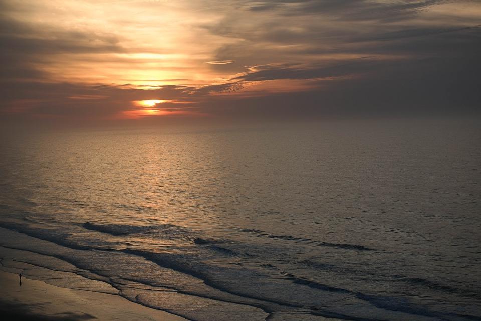 Sunset, Sun, Sunrise, Sky, Morning, Vacation, Horizon