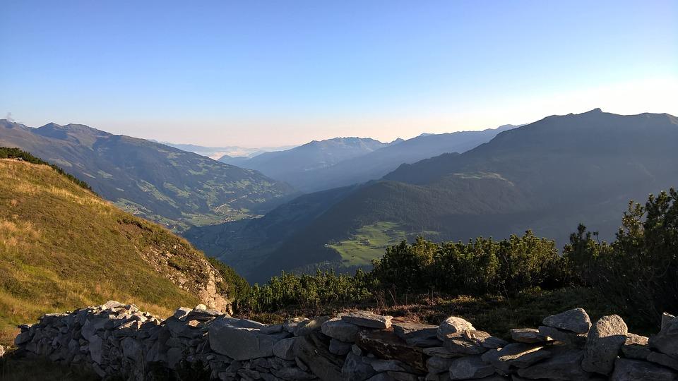 Mountain, Nature, Panorama, Landscape, Sky, Sun