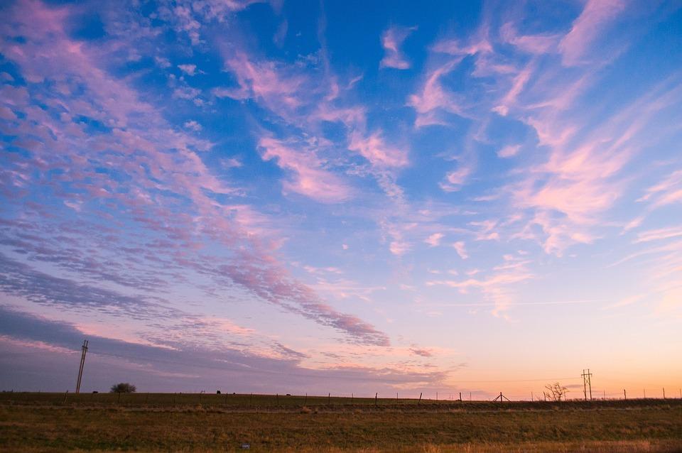 Sunrise, Sky, Sunset, Landscape, Nature, Clouds, Dawn