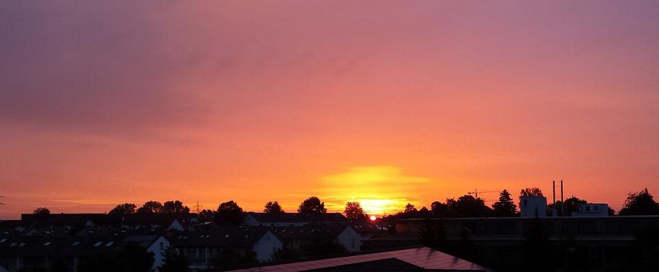 Sunrise, Wake Up, Morgenstimmung, Atmosphere, Sky