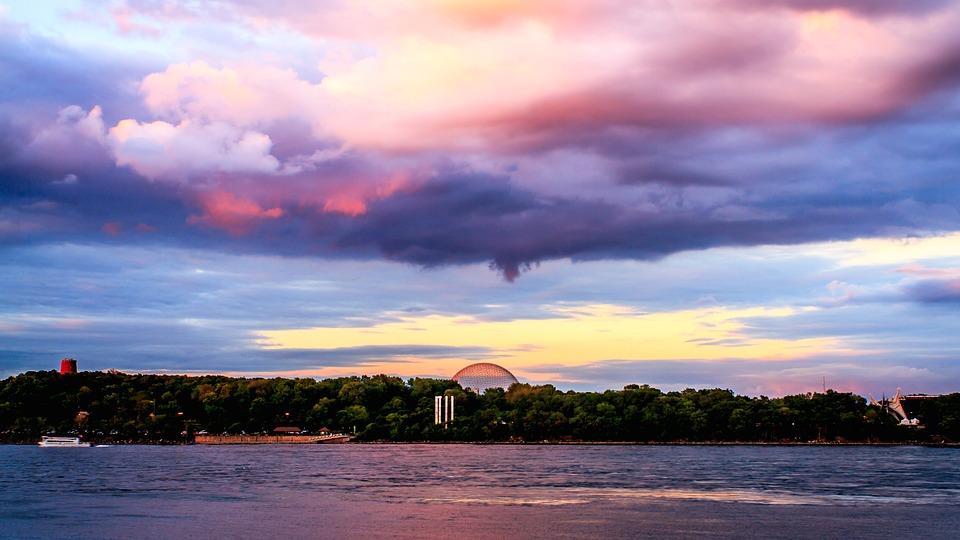 Sunset, Sky, Cloud, Montreal, Canada