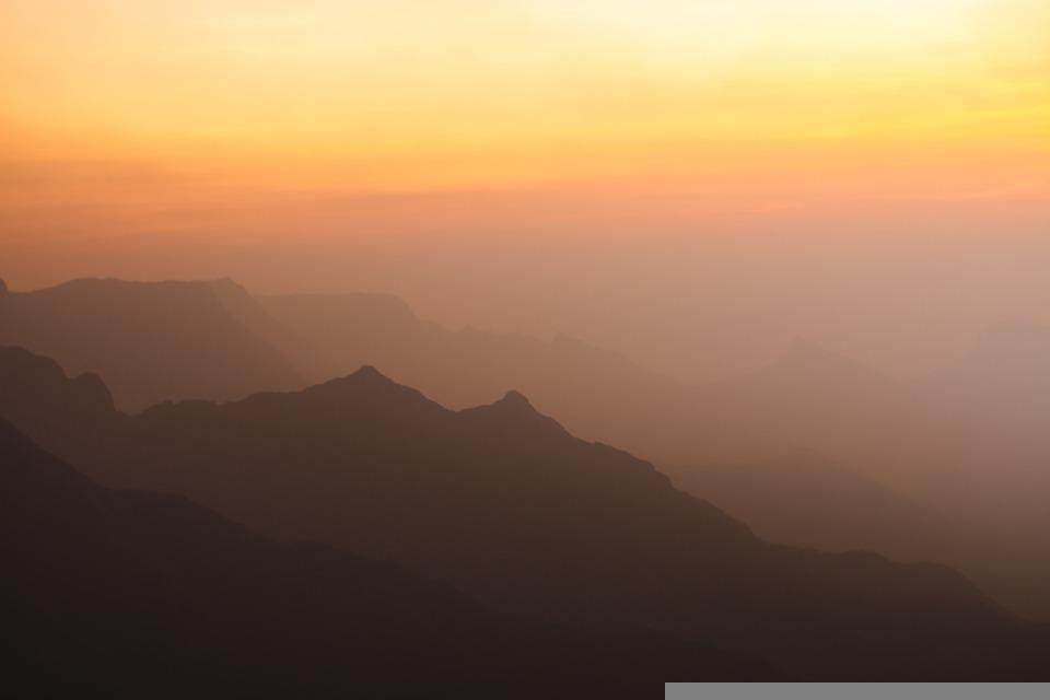 Mountains, Nature, Landscape, Sky, Sunset, Forest
