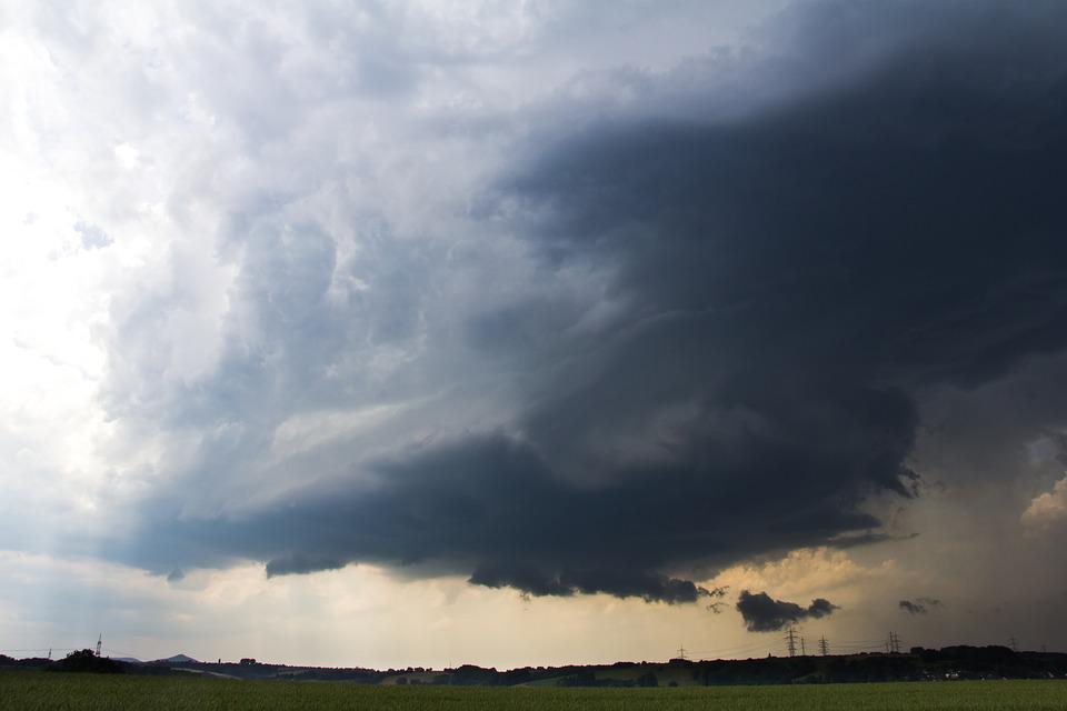 Nature, Sky, Cloud, Super Cell, North Rhine Westphalia