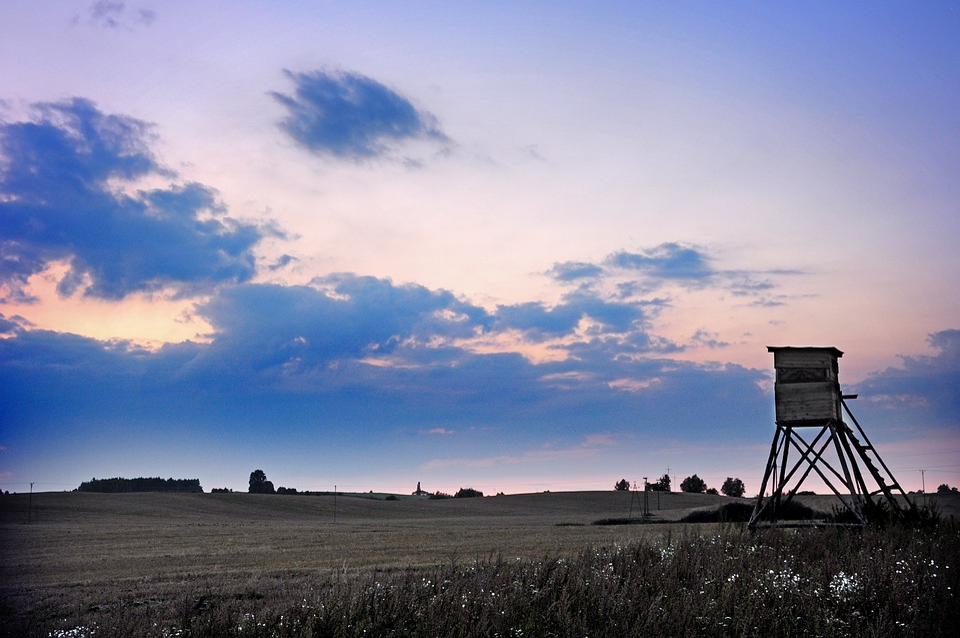 Evening, Sunset, Twilight, Sky, The Silence, Mood