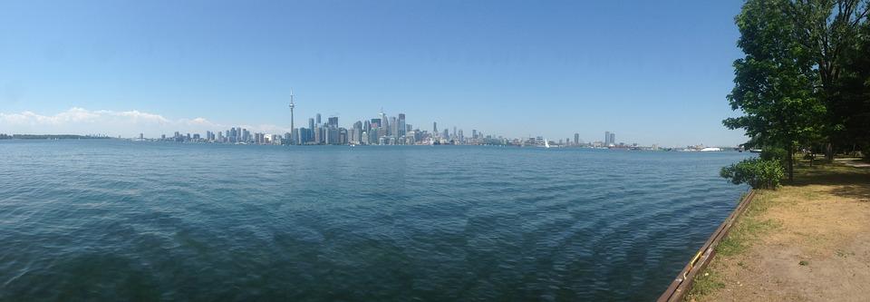 Sky, Toronto, Landscape, Cityscape, Skyline