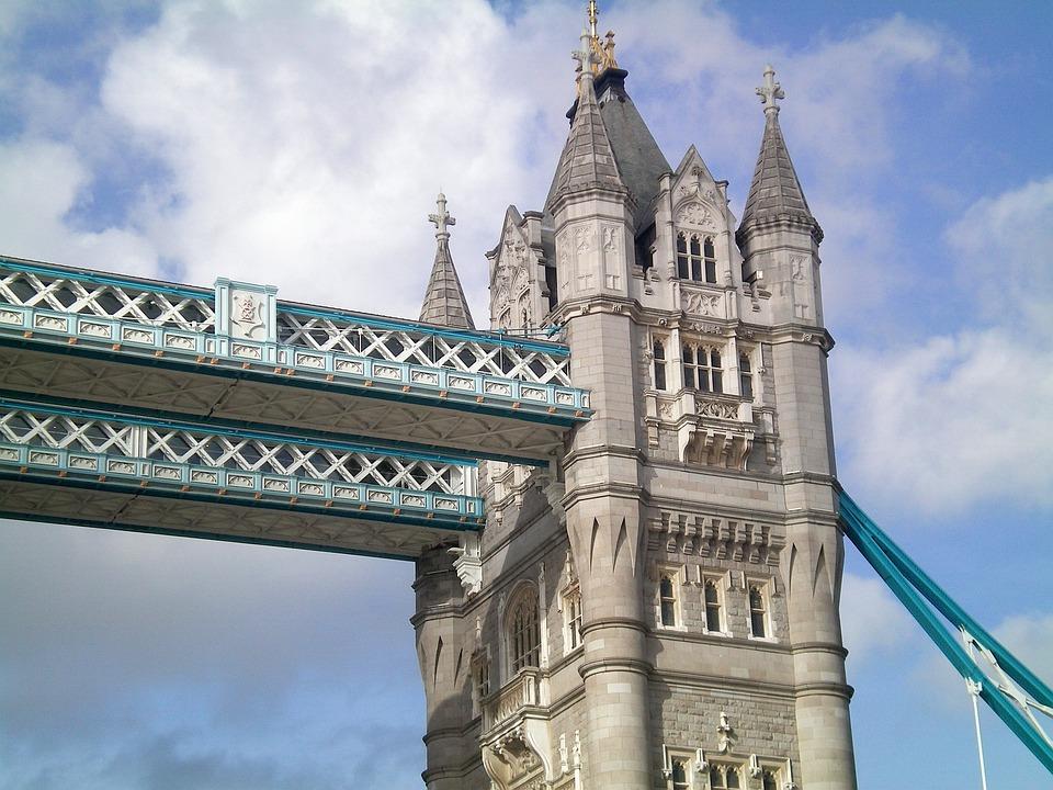 Architecture, Travel, Sky, City, Tourism, Tower Bridge