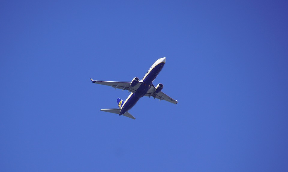 The Plane, Flight, Transport, Travel, Sky, Aviation