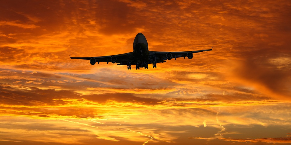 Emotions, Travel, Vacations, Aircraft, Sky, Sunset