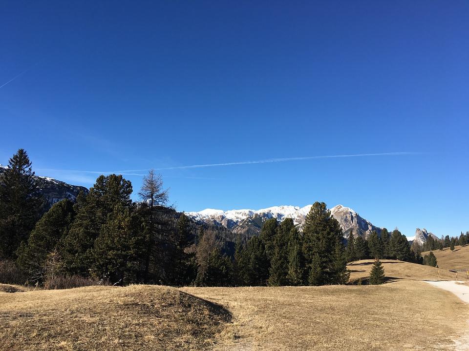 Mountain, Sky, Tree