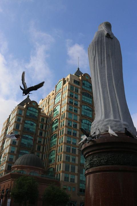 Birds, Streets, Houses, Monuments, Sky Vietnam