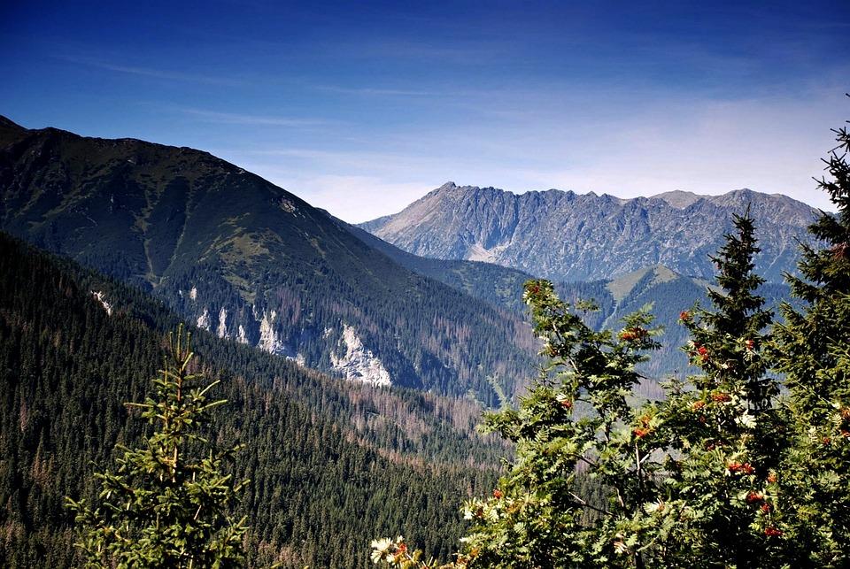 Tatry, Mountains, The High Tatras, View, Sky, Poland