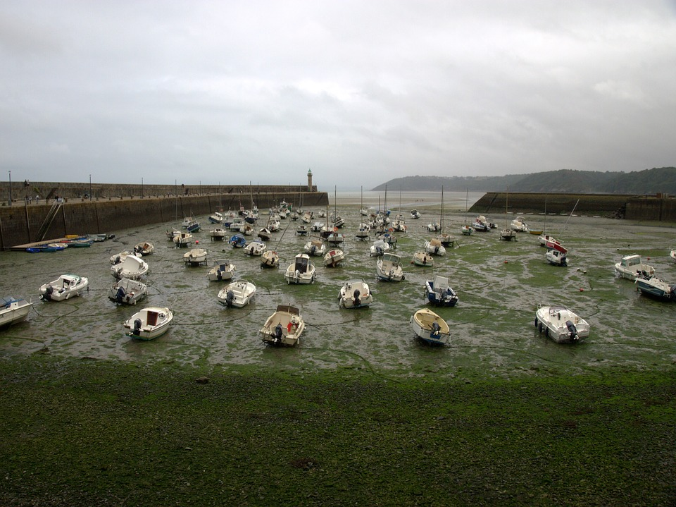 Brittany, Water, Sky, Tourism, Landscape, Coast