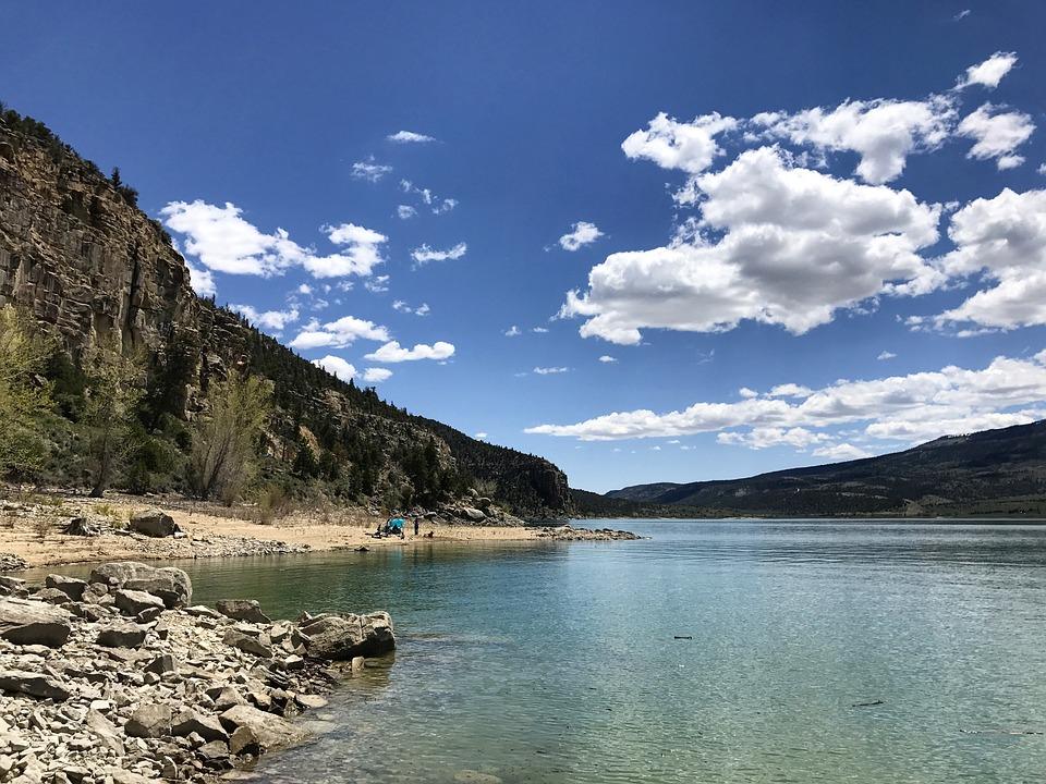 Joe's Valley, Water, Sky