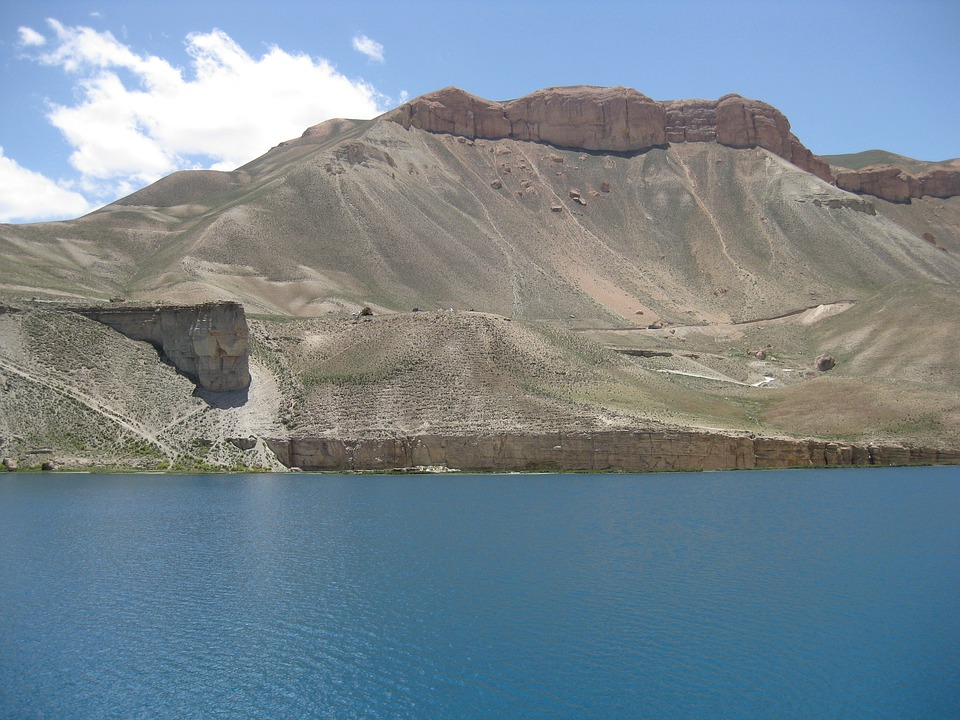 Afghanistan, Mountains, Scenic, Lake, Water, Sky