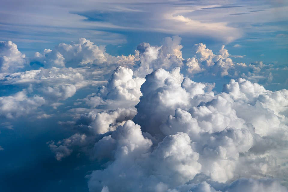 Clouds, Sky, Blue, Nature, Weather, Air, Environment