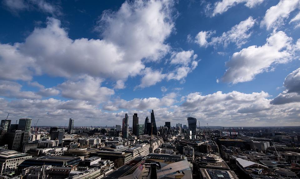 London, Sky, Sky Garden, Clouds, Weather, City, Mood