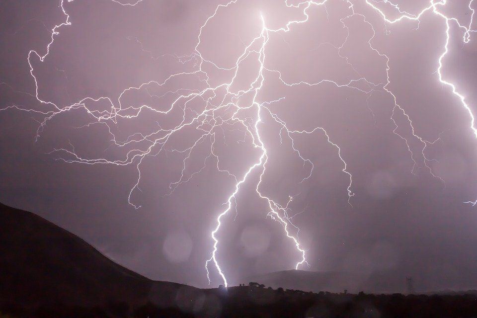Lightning, Storm, Weather, Sky, Thunder, Strike, Bolt