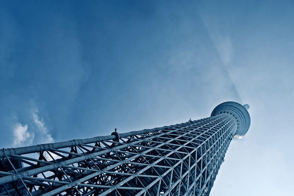 Tokyo, Sky-tree Tower, Japan, Travel, Building