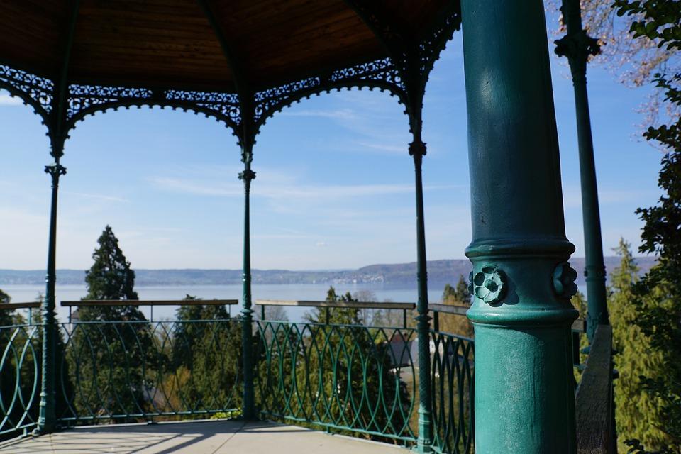 Lake Constance, überlingen, Panorama, Sky, Lake