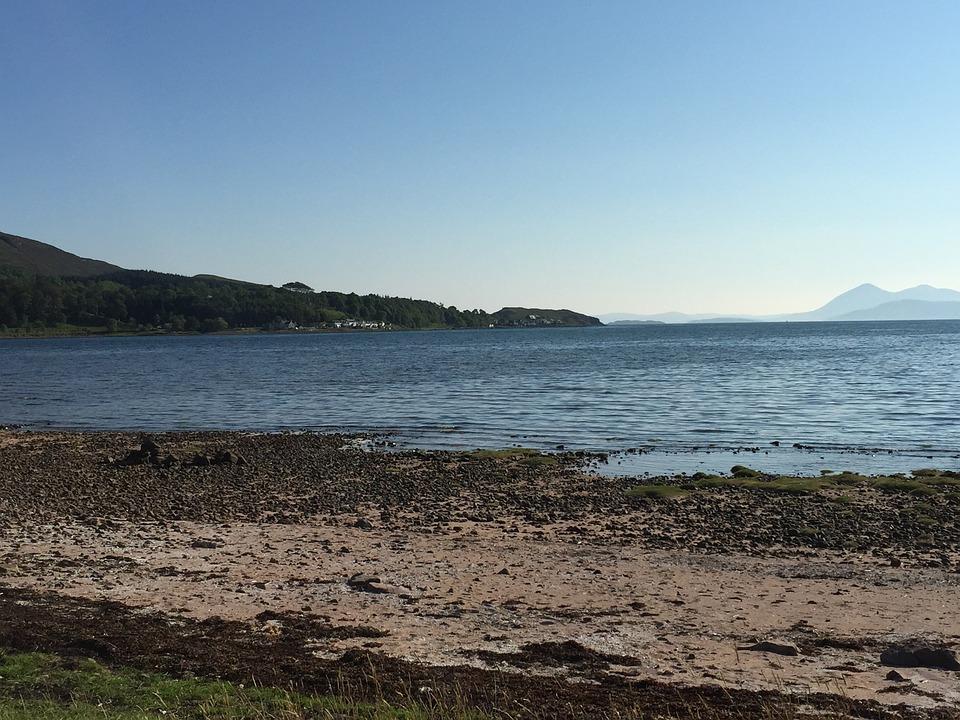 Scotland, Bay, Skye, Lake, Landscape