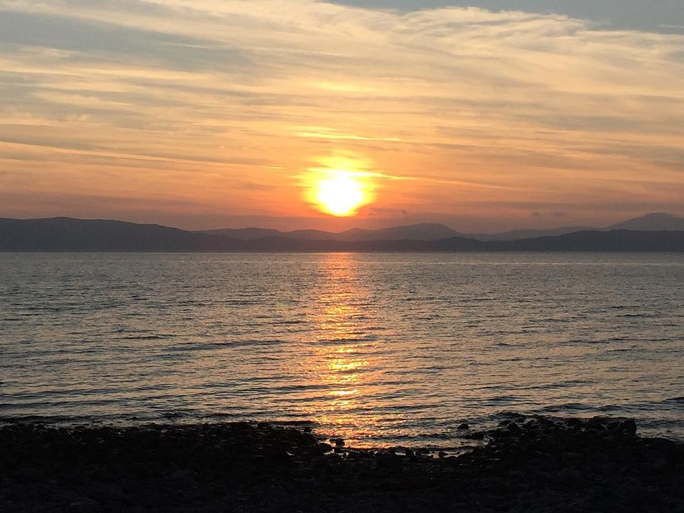 Sunset, Skye, Scotland