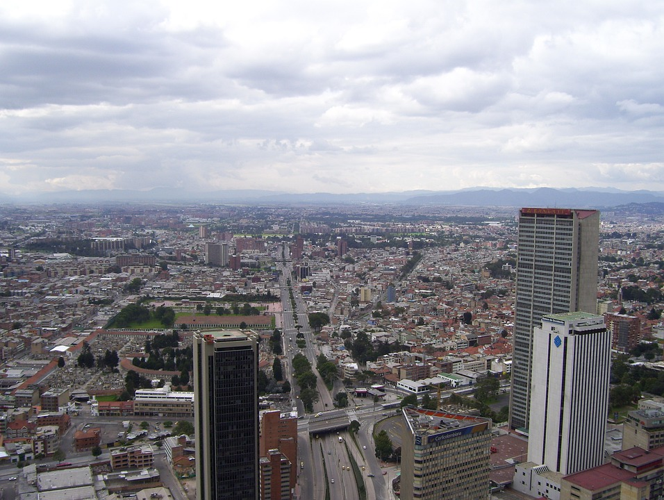 Bogota, Colombia, Architecture, Skyline, City