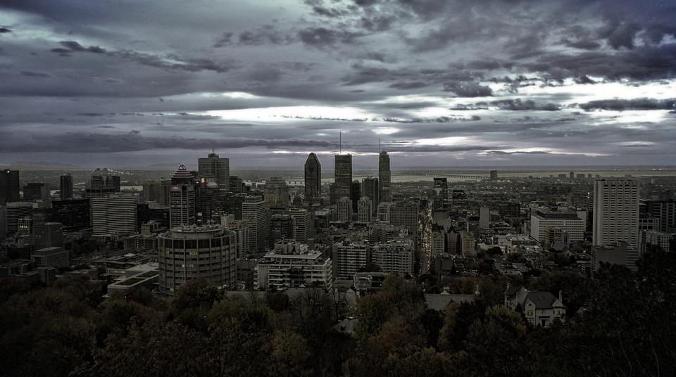 Montreal, City, Skyline, Canada, Panorama, Skyscraper