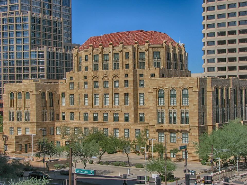 Phoenix, Arizona, City, Cities, Urban, Skyline