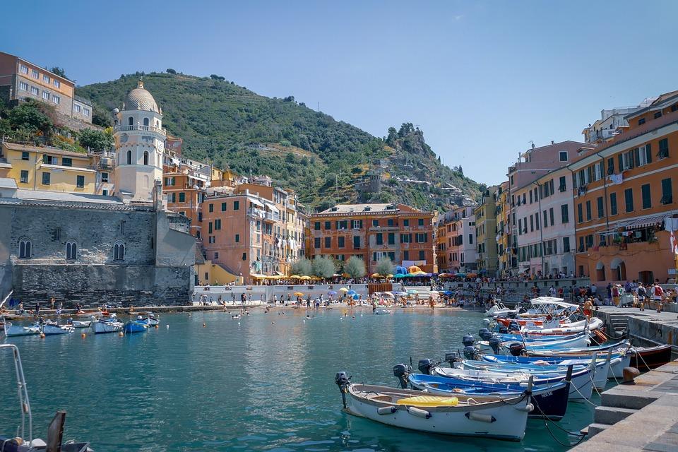 City, Italy, Sea, Water, Travel, Skyline, Urban