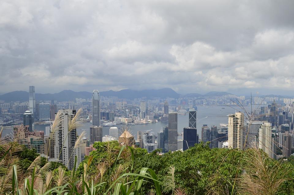 Hong Kong, Peak, View, Skyline, Victoria, Harbour