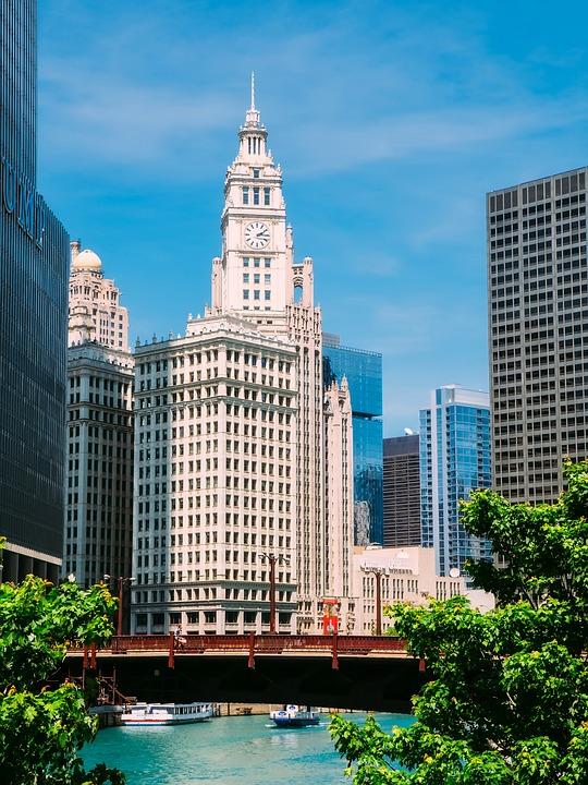 Chicago, Illinois, City, Urban, Cityscape, Skyline