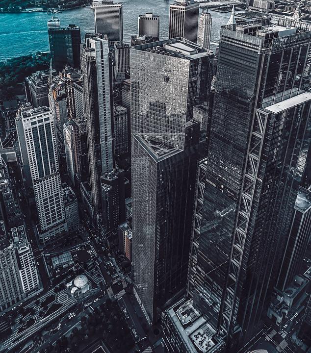City, Building, Architecture, Facade, Modern, Skyline